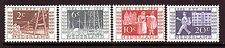 Netherlands Sc# 336-39 Dutch Postage and Telegraph Anniversary MNH VF Set