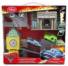 Disney Store Pixar Cars 2 Key Charger London Play Set Finn McMissile Acer NEW