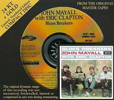 SEALED AUDIO FIDELITY GOLD CD JOHN MAYALL  ERIC CLAPTON  BLUES BREAKERS