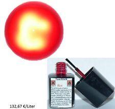 Tauchlack ROT QUALITATIV HOCHWERTIG Glühlampen Lampenlack Birne Lack NEU