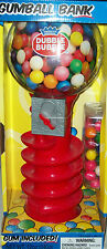 bubble gumball gum candy dispenser coin change money savings bank Xmas gift toy