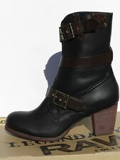 Caterpillar Lavern Chaussures Femme 40 Bottes Bottines Montantes CAT UK7 Neuf