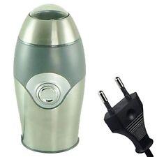 Grey/Silver - Electric Coffee Bean & Nut/Spice Grinder with EU PLUG Brand New