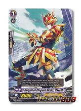 Cardfight Vanguard  x 4 Knight of Elegant Skills, Gareth - TD05/008EN - TD (comm