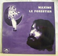 """33 tours Maxime LE FORESTIER Disque LP 12"""" FANTOME DE PIERROT - POLYDOR 2473055"""