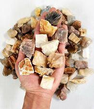 "Raw Moonstone Crystal 1"" to 2"" Medium Chunks Healing Crystals from India"