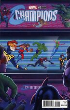 Champions #5 Marvel Comics Quinones 1:10 Variant
