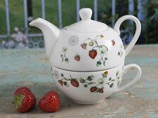 ROYAL BOTANIC GARDENS, KEW Strawberry Fayre FINE CHINA TEA FOR ONE