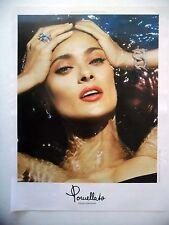 PUBLICITE-ADVERTISING :  POMELLATO Collection Nudo  2015 Salma Hayek,Bijoux