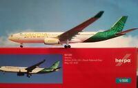 1:500 Herpa Wings Herpa Wings Saudia A330-300 HWC Modell Neuware 531320
