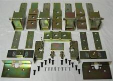 Complete Street Rod Suicide Hidden Door Hinge Kit w Large Latches For 2 Doors