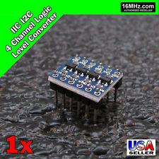 IIC I2C Logic Level Converter Bi-Directional Module 3.3V - 5V Arduino USA S13