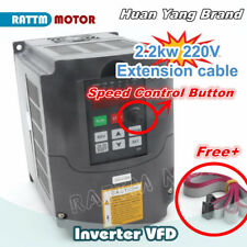 2.2KW 220V 10A VFD Inverter 3HP CNC Variable Frequency Speed Control Driver