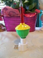 Foremost Bubble Night Light....Yellow/Green Base With Red Bubbling Fluid....New