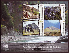 NEW ZEALAND 2004 WORLD STAMP CHAMPIONSHIP  UNMOUNTED MINT, LORD OF THE RINGS