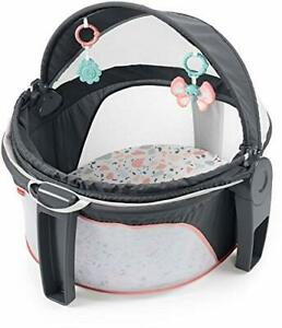 Fisher-Price On-The-Go Baby Dome - Pink Pacific Pebble Portable Infant Play S...