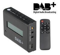 ^ Rz Récepteur Radio Numérique DAB+ Plus Maison Voiture Tuner Adaptateur
