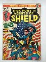 NICK FURY & HIS AGENTS OF SHIELD #2 MARVEL 1973 BRONZE DEATH BEFORE DISHONOR!