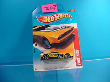 #307 HOT WHEELS THRILL RACERS CITY STUNT '12 FAST FISH #197 YELLOW NEW ON CARD