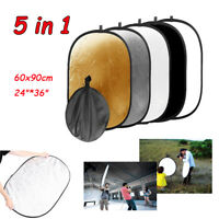 "Photography 24"" * 36"" 5-in-1 Mulit Collapsible Light Photo Reflector 60cm*90cm"