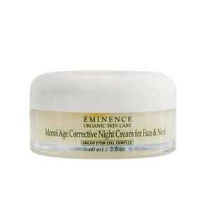 NEW Eminence Monoi Age Corrective Night Cream for Face & Neck - For Normal to