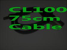 CL100 Locking 3.5mm plug/jack MALE XLR wireless Sennheiser sony EK g1 g2 g3 75cm