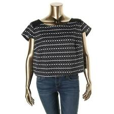 Polyester Clubwear Plus Size Tops & Blouses for Women