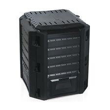Komposter Composter Kompostierer 380L Schwarz Top Qualität Deckel verschließbar