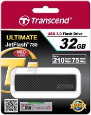 TRANSCEND JETFLASH 780 32gb USB 3.0 32 GB CHIAVETTA ts32gjf780 NUOVO OVP