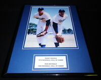Sandy Koufax & Don Drysdale Framed 11x14 Photo Display Dodgers