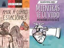 Amor a 4 Estaciones Mientras Te Olvido Nacarid Portal Book Libro Spanish New