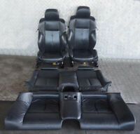BMW 6 Series E63 M Sport Black Leather Interior Seats Memory with Door Cards