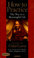 How to Practice The Way to a Meaningful Life by Dalai Lama CASSETTE, UNABRIDGED