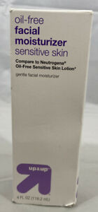 Up & Up Oil Free Facial Moisturizer Sensitive Skin Gentle Lotion New in box