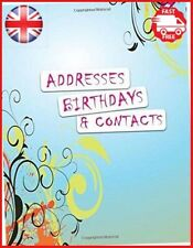 Addresses Birthdays and Contacts: A4 Extra Large At A Glance Address Log Book Fo