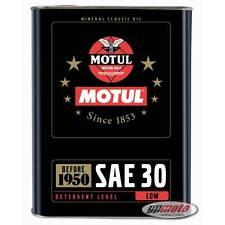 8.02€/l Motul Classic Oil SAE 30 2 L Oldtimer Öl Einbereichsöl mineralisch