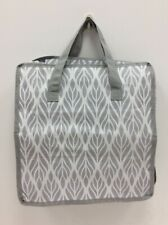 Avon New in packaging Hidden Home shoe Storage Bag grey & white 6 compartments