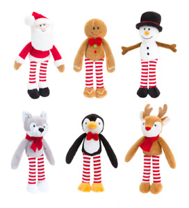 Keel Toys Christmas Character Animal Dangly Soft Plush Toy Decoration Gift New