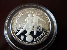 100 Escudos 1986 Portugal Fussball WM 1986 Mexiko 925 Silber