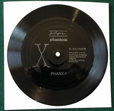 X ~ El Salvador: Australian 1985 Phantom Live one-sided Punk flexi-disc.