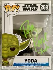 Clone Wars YODA Funko Pop! - PLUS Signed Pic - Both AUTOGRAPHED by Tom Kane!