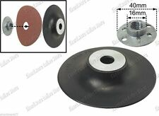 Flexible Rubber Backing Pad with Clamp Nut 100mm (33RP010)
