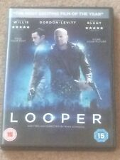 Looper (DVD) Time Travel + Special Features Face Your Past Fight Your Future