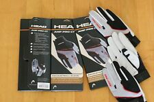 HEAD RACQUETBALL GLOVE AMP PRO CT, 3 GLOVES, Right Hand Size XL EXTRA LARGE