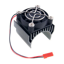 RC HSP 7020 Gray Alum Heat Sink 5V Fan 40*40*10mm Cooling For 540 550 Motor
