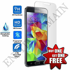 100% REAL TEMPERED GLASS FILM SCREEN PROTECTOR FOR SAMSUNG GALAXY - S5