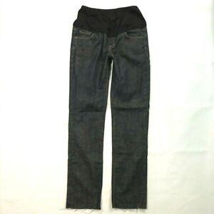 COH Citizens of Humanity Size 29 x 32 Straight Raw hem Maternity jeans Dark wash