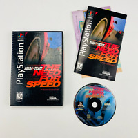 The Need for Speed - Sony PlayStation 1 PS1 LONGBOX 1996 Complete CIB RARE!