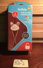Safety 1st Side by Side Cabinet Lock 2 Pack - Safety First - New/Sealed HS158