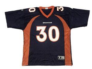 Vintage Denver Broncos Starter Jersey Mens Xl Size 52 Terrell Davis 90s 1998